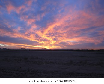 Sunset sky in Maricopa