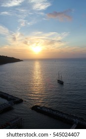 Sunset from Sorrento