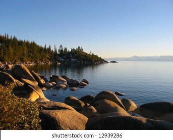 Sunset in South Lake Tahoe, Nevada