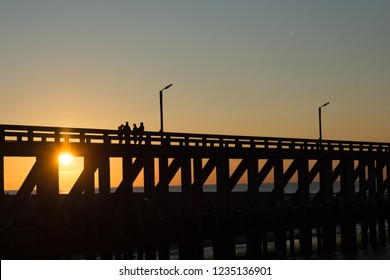 Sunset Staketsel Blankenberge