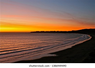 A Sunset At Stinson Beach