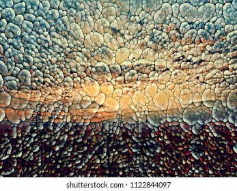 sunset 'stone mosaic'