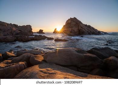 Sunset at Sugarloaf rock, Yallingup - Western Australia