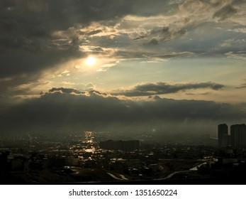 Sunset in Sulaymaniyah