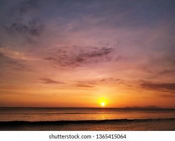 A sunset of summer