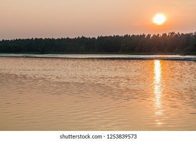 Sunset in Sundarbans, Bangladesh
