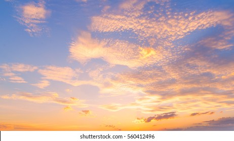 Sunset / sunrise with clouds, light rays and other atmospheric effect, selective White balance.
