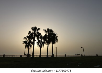 Sunset taken at Corniche of Jubail