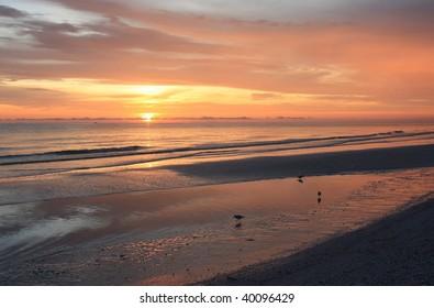 Sunset at Tigertail Beach Marco Island, Florida