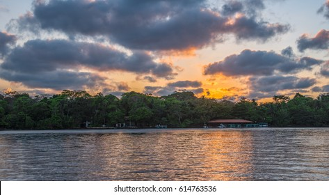 Sunset in Tortuguero - Costa Rica
