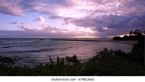 Sunset at Turtle Bay, North Shore, Oahu, Hawaii