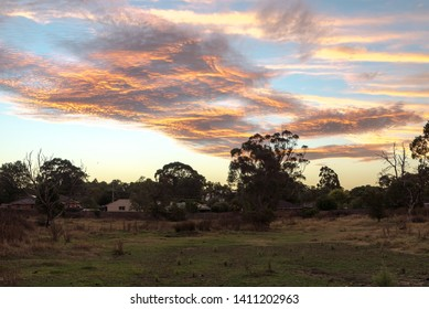 Sunset twilight in Melbourne, Australia