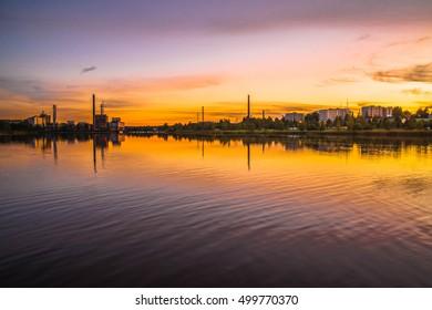 Sunset at Vaasa