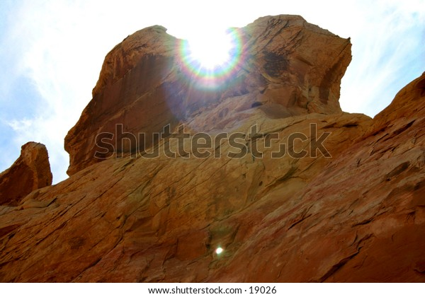 Sunset Valley of Fire