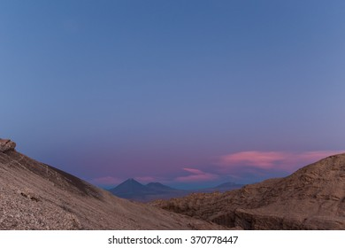 Sunset in the Valley of the Moon, Atacama