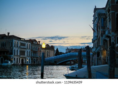 sunset in Venice, Italy, Grand Canal