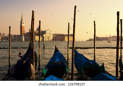 Sunset in Venice,Italy