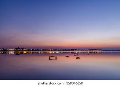 Sunset in Vientiane