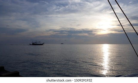 Sunset view in Boracay, Philippines