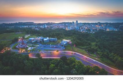 Sunset View at The Grand Old Lady Miri, Sarawak.