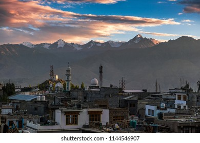 Sunset view from Leh, Capital of Ladakh