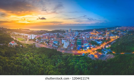 Sunset View at Miri, Sarawak.