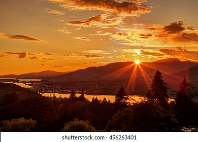 Sunset Mountains Images Stock Photos Vectors Shutterstock