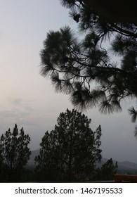 Sunset view Rockcity Resort - Fiza Ghaat Swat, Pakistan. (July 2019)