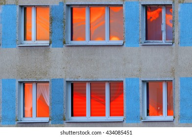 Sunset In The Windows