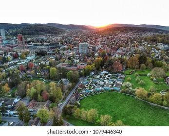 Sunset in Winterthur - Winterthur, Switzerland 2018