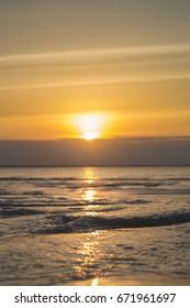 Sunset in Zanzibar island