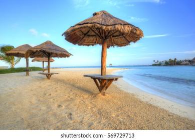 Sunshade at Sand beach