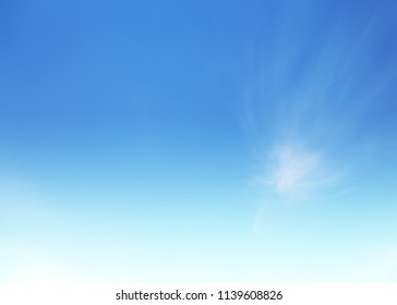 Sunshine clouds sky blurred during morning open view out windows beautiful summer spring and peaceful nature background.