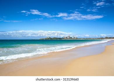 Sunshine coast beach Queensland Australia