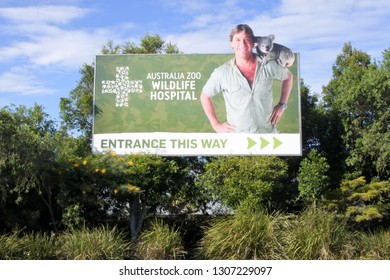 SUNSHINE COAST - JAN 25 2019:Australia Zoo Wildlife Hospital.It is one of the world's largest and busiest purpose-built wildlife hospitals saving Australia's native species, one life at a time.