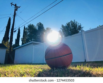 Sunshine lighting basketball. It has a deeper meaning.