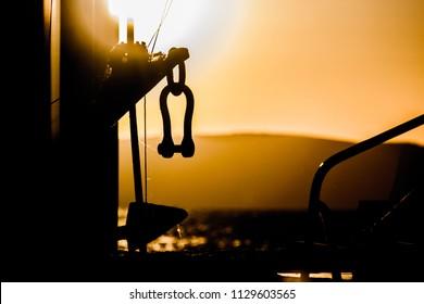 Sunshine with sailing tools