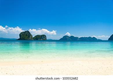 Sunshine Scene Beach Holiday