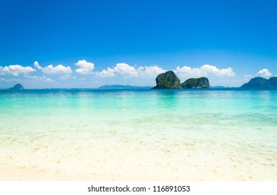 Sunshine Scene In a Blue Heaven