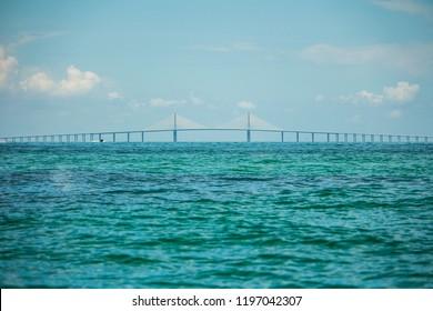Sunshine Skyway bridge from afar