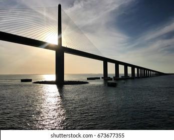 Sunshine Skyway Bridge (Tampa Bay, FL)