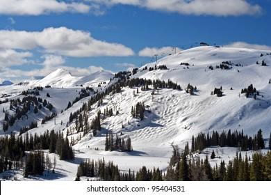 Sunshine Village Ski Area, Near Banff, Banff national Park, Alberta, Canada