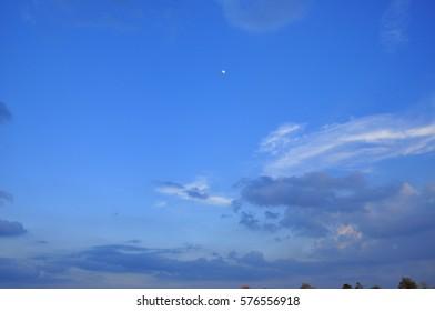 sun,sky,clound