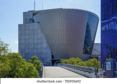 Suntory Museum Tempozan, Osaka Japan - October 2015