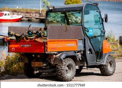 Suomenlina/Finland August 24, 2019 Kubota Rtv 900 UTV/Utility ATVs. Kubota Corporation is a tractor and heavy equipment manufacturer based in Osaka, Japan.