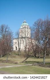 Suomenlinna Church - part of Suomenlinna UNESCO world heritage site.