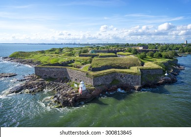 Suomenlinna (Finnish) / Sveaborg (Swedish) One of the largest sea fortress in the world. The Swedish crown commenced the construction of the fortress in 1748 as protection against Russian expansionism