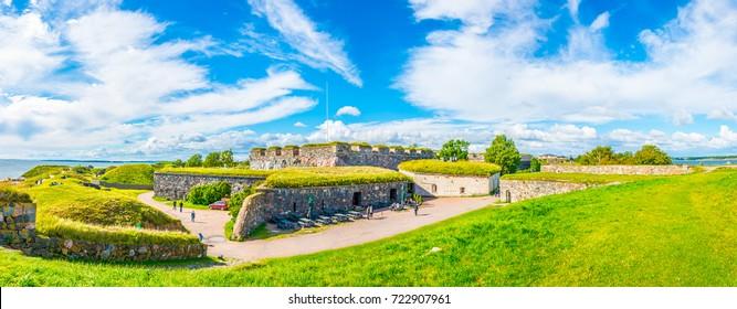 Suomenlinna fortress in Finland.