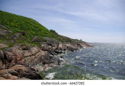 Suomenlinna - island in Baltic sea near Helsinki, Finland