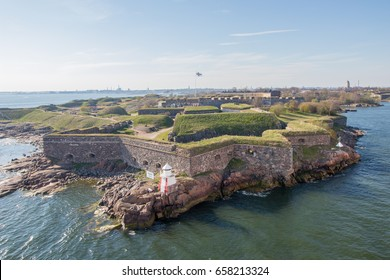 Suomenlinna sea fortress just outside Helsinki, the capital of Finland.